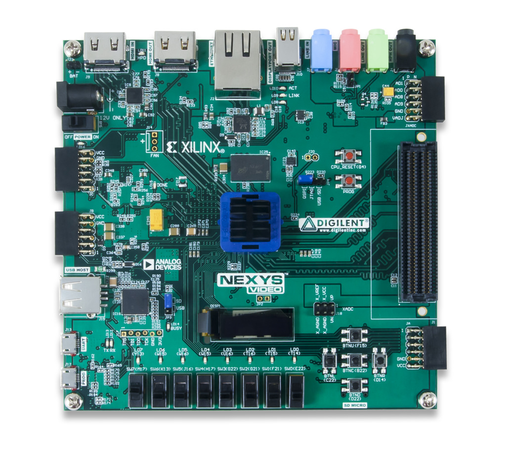 Open source HD video project on Digilent board powered by Xilinx ...