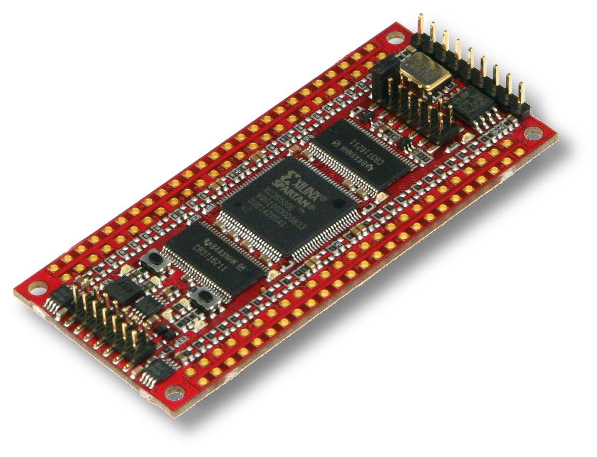 Xilinx Artix 7 2x50 Pin Fpga Modul Mit Xc7a35t 2csg324c Und 32 Mbyte Electronics Technology 02 08 12 Size 14545 Kb Modified 27082009 151902 Tht Socket 11493 162237