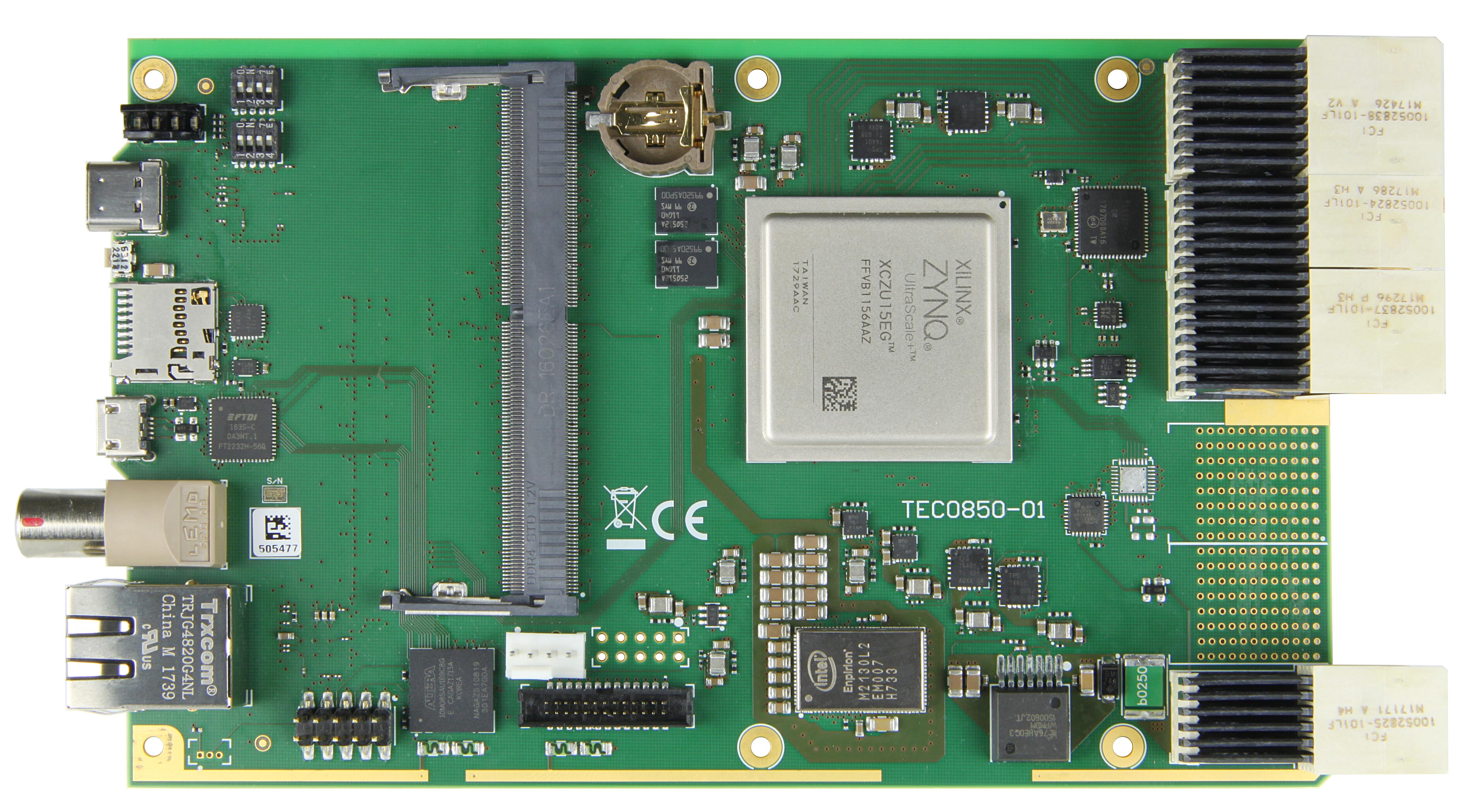 TE0705 - Simplified carrier board based upon TE0701